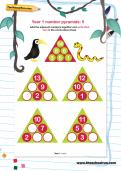 Year 1 number pyramids: 5