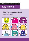 Y1 phonics screening check 2018 past paper