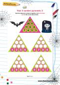 Year 3 number pyramids: 2