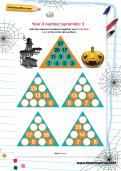 Year 3 number pyramids: 3