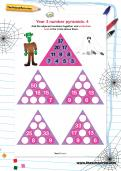 Year 3 number pyramids: 4