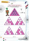 Year 3 number pyramids: 4