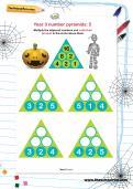 Year 3 number pyramids: 5