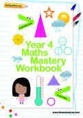 Year 4 Maths Mastery Workbook