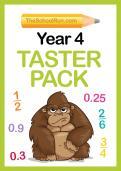 TheSchoolRun Year 4 worksheets taster pack