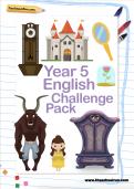 Year 5 English Challenge Pack