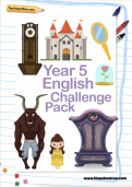 Year 5 English Challenge Pack
