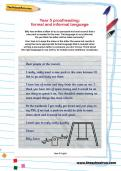 Year 5 proofreading: formal and informal language