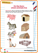 on the farm where animals live theschoolrun. Black Bedroom Furniture Sets. Home Design Ideas