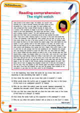 passage of text along with questions designed to prompt your child ...
