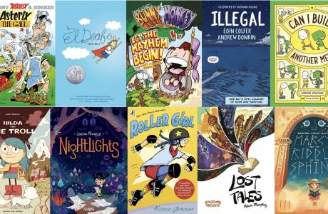Best books for children who love reading comics