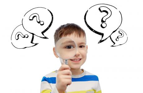 Child with questions