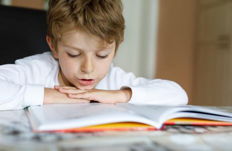 Reading challenges for primary school kids