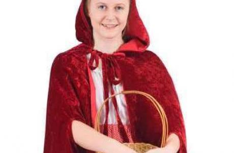Little red riding hood costume for World Book Day