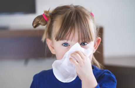 Winter health for primary school children