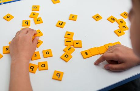 Word board games for children