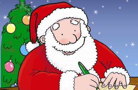 Writing to Father Christmas