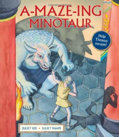 A-Maze-Ing Minotaur by Juliet Rix