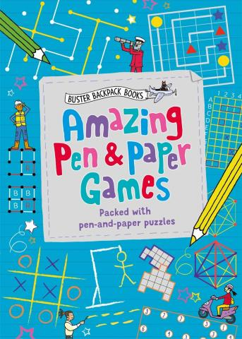 Amazing Pen & Paper Games
