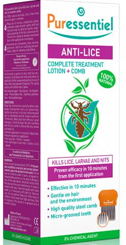 Puressentiel Anti-Lice Lotion and Comb
