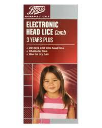 Boots Electronic Head Lice Comb