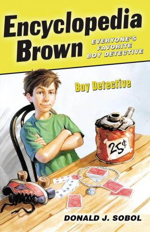 Encyclopedia Brown Boy Detective by Donald Sobol
