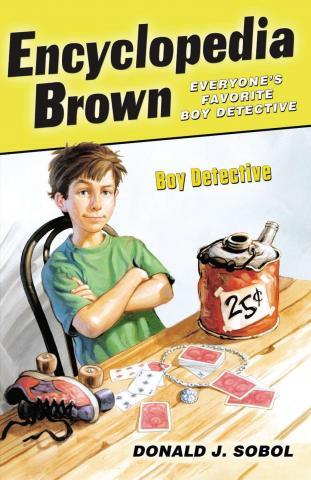 Encyclopedia Brown Boy Detective by Donald Sobol