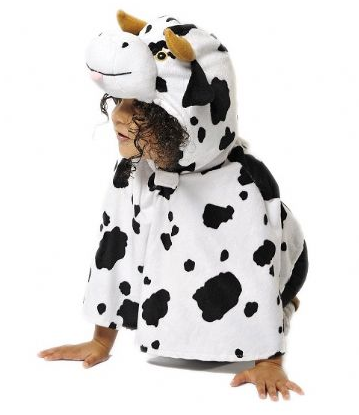 Cow Nativity costume