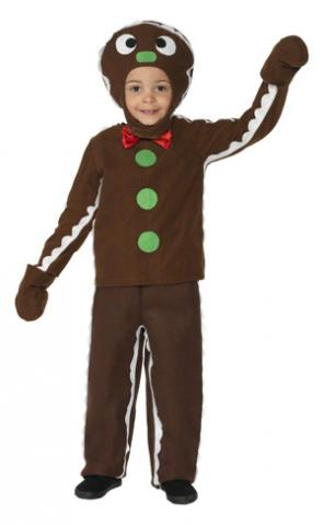 The Gingerbread Man costume