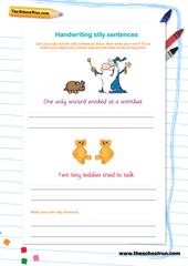 Writing full sentences
