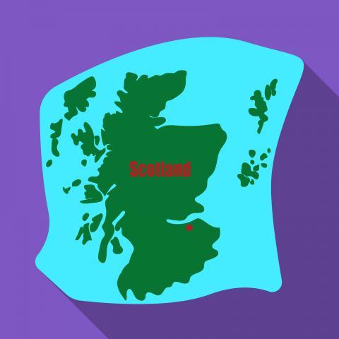 Scotland Homework Gnome
