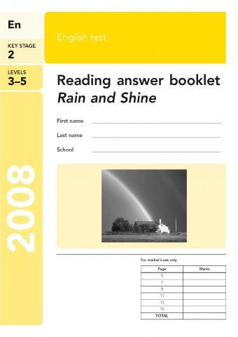 KS2 English SATs 2008