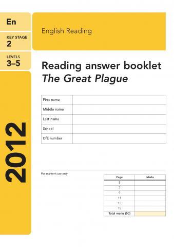 KS2 English SATs 2012