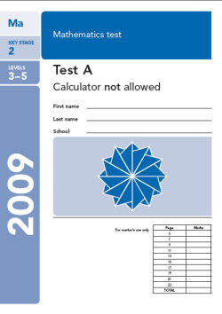 KS2 maths SATs 2009