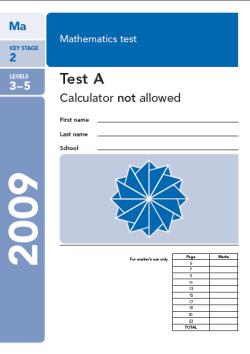 KS2 maths SATs 2009
