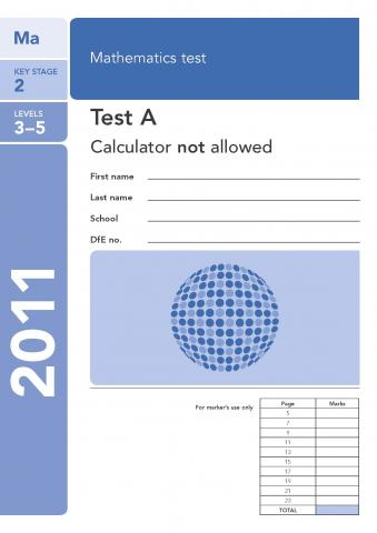 KS2 maths SATs 2011