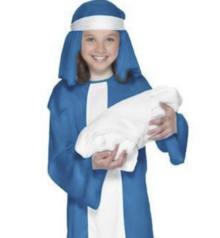 Mary Nativity costume  sc 1 st  TheSchoolRun : nativity costumes adults  - Germanpascual.Com