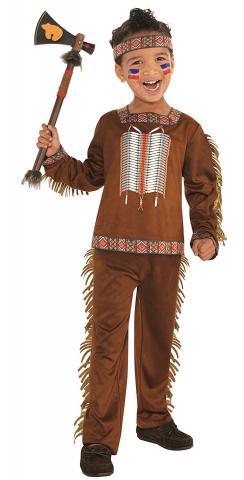 Native American boy costume