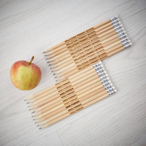 Personalised Teacher Pencil Set