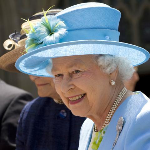 Queen Elizabeth II Homework Gnome