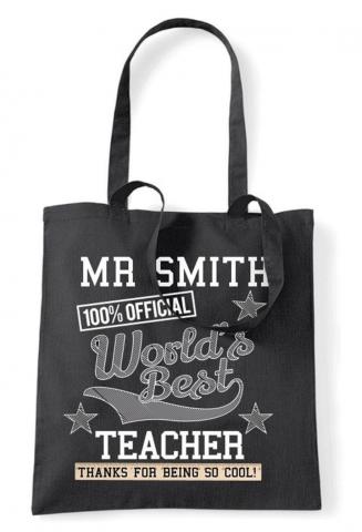 Personalised Teacher Bag
