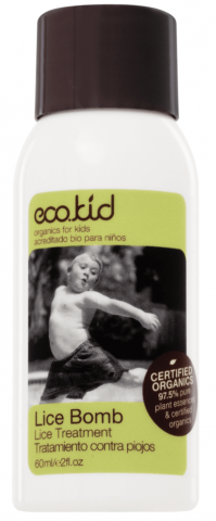 eco.kid Lice Bomb Organic Certified Head Lice Treatment