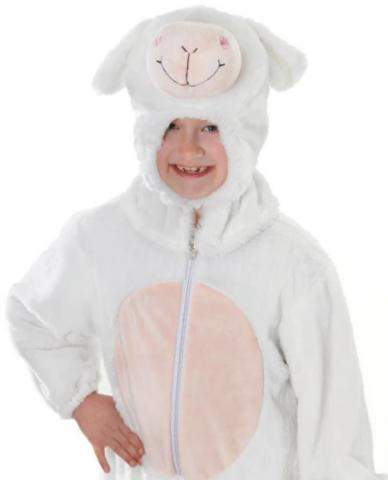 Sheep Nativity costume, Wonderland Party