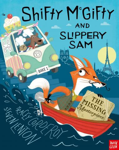 Shifty McGifty and Slippery Sam: The Missing Masterpiece by Tracey Corderoy and Steven Lenton