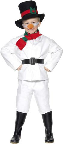 Snowman dressing-up costume