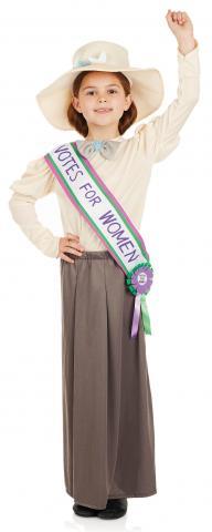 Suffragette costume