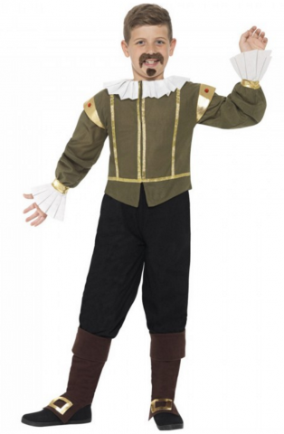 William Shakespeare costume for kids
