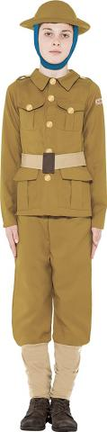WWI soldier costume