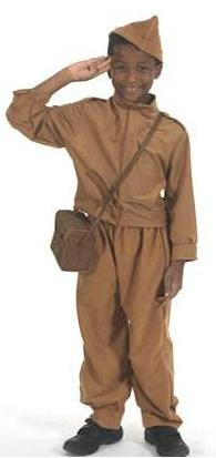 WWII Home Front costume