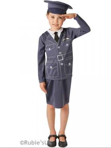 WWII RAF girl costume